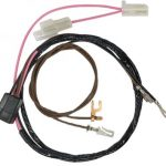 This is an image of a 1969 Camaro Tachometer Wiring Harness