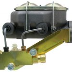 """This is an image of a 1967-69 Camaro Master Cylinder & Pro Valve, 1"""" Bore, Disc/Drum"""