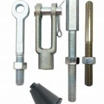 This is an image of a Universal Manual Master Cylinder Rod Kit